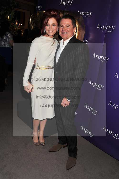 EMILIA FOX and CHARLES WORTHINGTON at the Asprey BAFTA Party held at Asprey, 167 New Bond Street, London on 11th February 2012.