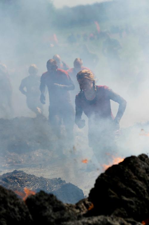 Tough Mudder - May 2012 - Northamptonshire - Fire Walk