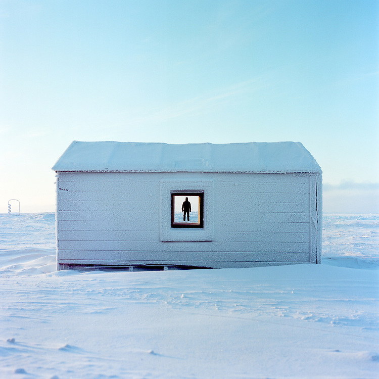 BARROW, ALASKA - 2013: David Taylor.
