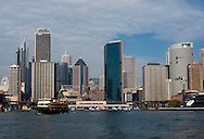 Downtown Sydney and the Circular Quay.
