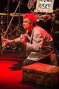 Wellington, NZ. 11 March 2015. Squaring The Wheel, at The Hannah Playhouse, by Jens Altheimer. Part of the Capital E National Arts Festival, March 2015. Photo credit: Stephen A'Court. COPYRIGHT: ©Stephen A'Court