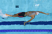 Geoffroy Mathieu (FRA) competes on Men's 100 m Backstroke during the Swimming European Championships Glasgow 2018, at Tollcross International Swimming Centre, in Glasgow, Great Britain, Day 4, on August 5, 2018 - Photo Stephane Kempinaire / KMSP / ProSportsImages / DPPI
