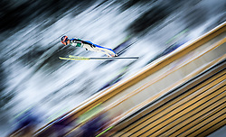 19.02.2016, Salpausselkae Schanze, Lahti, FIN, FIS Weltcup Nordische Kombination, Lahti, Skisprung, im Bild Tim Hug (SUI) // Tim Hug of Switzerland competes during Skijumping of FIS Nordic Combined World Cup, Lahti Ski Games at the Salpausselkae Hill in Lahti, Finland on 2016/02/19. EXPA Pictures © 2016, PhotoCredit: EXPA/ JFK