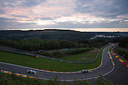 sunset during the Francorchamps Endurance Series at Spa, Belguim on 31 July 2016. Photo by Jarrod Moore.