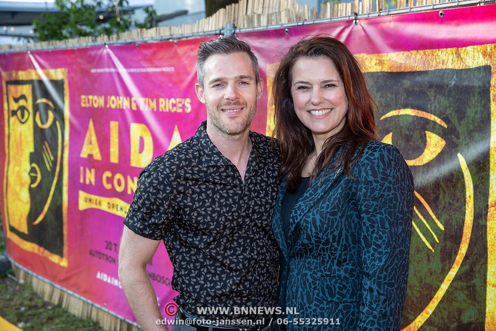 NLD/Rosmalen/20190620 - Aida in concert, Thomas Cammaert en Susan Visser