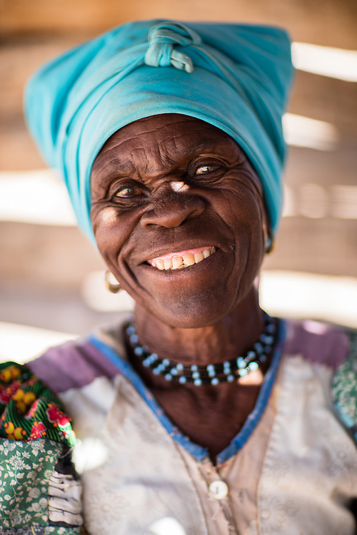 Herero local lady, Namibia