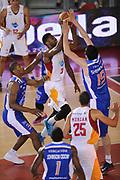 DESCRIZIONE : Roma Lega A 2014-15 <br /> Acea Virtus Roma - Acqua Vitasnella Cantu<br /> GIOCATORE : Melvin Ejim<br /> CATEGORIA : penetrazione tiro tecnica<br /> SQUADRA : Acea Virtus Roma<br /> EVENTO : Campionato Lega A 2014-2015 <br /> GARA : Acea Virtus Roma - Acqua Vitasnella Cantu<br /> DATA : 10/05/2015<br /> SPORT : Pallacanestro <br /> AUTORE : Agenzia Ciamillo-Castoria/N. Dalla Mura<br /> Galleria : Lega Basket A 2014-2015  <br /> Fotonotizia : Roma Lega A 2014-15 Acea Virtus Roma - Acqua Vitasnella Cantu