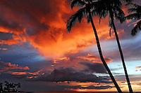 Kailua-Kona, Hawaii, sunset