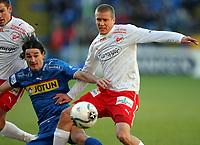 Fotball , 12. november 2006 , NM-finale , NM finale , Cupfinale , Sandefjord - Fredrikstad 3-0<br /> <br /> Patrik Gerrbrand , Fredrikstad og Adriano Munoz , Sandefjord