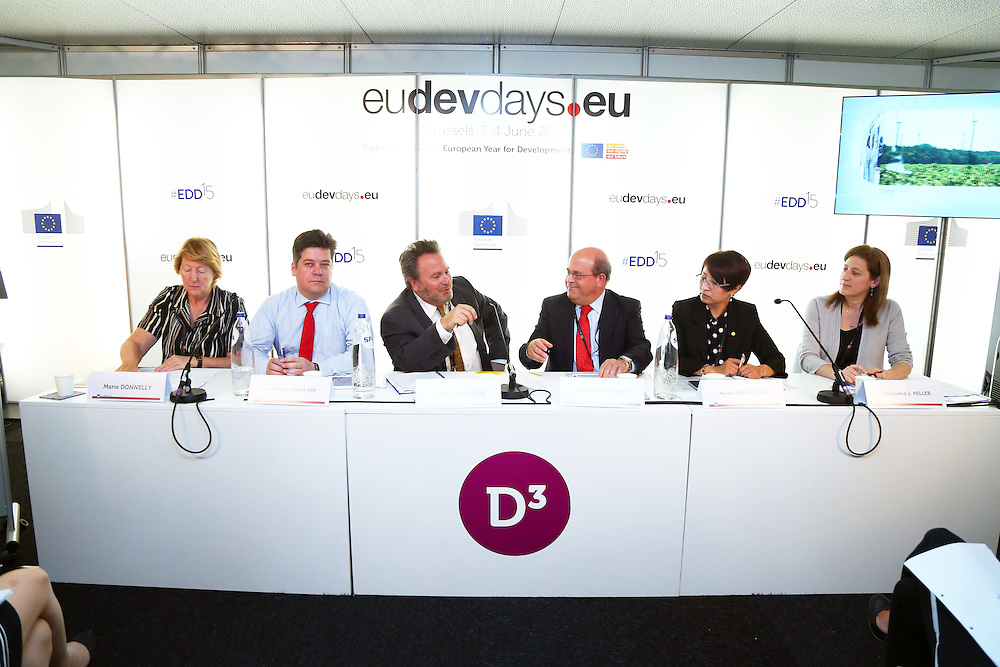 04 June 2015 - Belgium - Brussels - European Development Days - EDD - Energy - Sustainable energy - Unleashing the private sector's potential © European Union