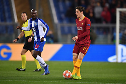 12.02.2019, Stadio Olimpico, Rom, ITA, UEFA CL, AS Roma vs FC Porto, Achtelfinale, Hinspiel, im Bild zaniolo, zaniolo during the UEFA Champions League round of 16, 1st leg match between AS Roma and FC Porto at the Stadio Olimpico in Rom, Italy on 2019/02/12. EXPA Pictures © 2019, PhotoCredit: EXPA/ laPresse/ Alfredo Falcone<br /> ALFREDO<br /> <br /> *****ATTENTION - for AUT, SUI, CRO, SLO only*****