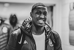 Fred Thomas of Bristol Flyers arrives at SGS Wise Arena prior to kick off  - Photo mandatory by-line: Ryan Hiscott/JMP - 03/11/2018 - BASKETBALL - SGS Wise Arena - Bristol, England - Bristol Flyers v Newcastle Eagles - British Basketball League Championship