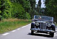30/06/14 - CHAPPES - PUY DE DOME - FRANCE - Essais RILEY RMC de 1950 - Photo Jerome CHABANNE