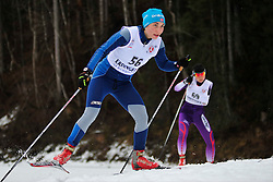 SHYSHKOVA Oksana Guide:  NESTERENKO Lada, UKR at the 2014 IPC Nordic Skiing World Cup Finals - Long Distance