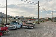 USA,Nevada, Tonopah, outskirts of town, Pax Americana  Tonopah