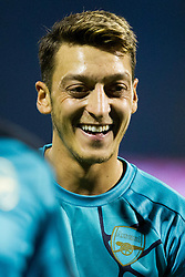 Mesut Ozil #11 of Arsenal F.C. before football match between GNK Dinamo Zagreb, CRO and Arsenal FC, ENG in Group F of Group Stage of UEFA Champions League 2015/16, on September 16, 2015 in Stadium Maksimir, Zagreb, Croatia. Photo by Urban Urbanc / Sportida