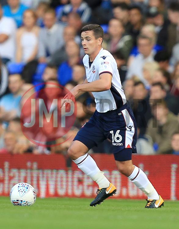 Josh Cullen of Bolton Wanderers - Mandatory by-line: Paul Roberts/JMP - 15/08/2017 - FOOTBALL - St Andrew's Stadium - Birmingham, England - Birmingham City v Bolton Wanderers - Sky Bet Championship