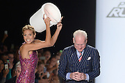 Sept. 5, 2014 - New York, NY, USA - September 5, 2014 <br /> <br /> Heidi Klum and Tim Gunnattending the Project Runway Season 13 Finale Show during Mercedes-Benz Fashion Week Spring 2015 at The Theatre at Lincoln Center <br /> ©Exclusivepix