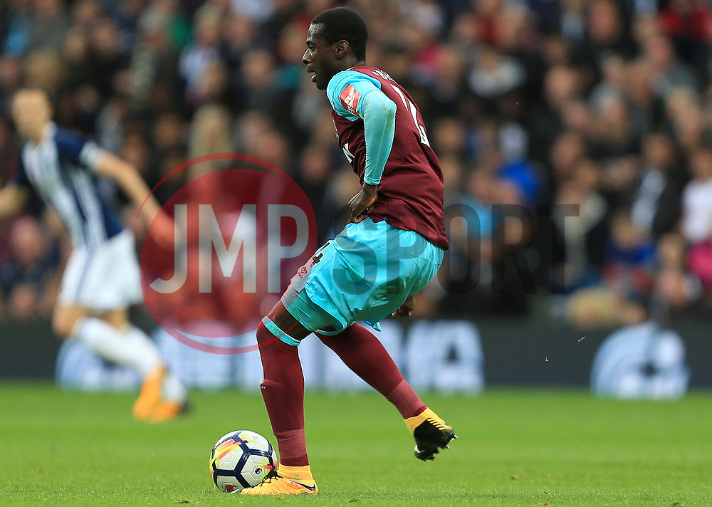 Pedro Obiang of West Ham United - Mandatory by-line: Paul Roberts/JMP - 16/09/2017 - FOOTBALL - The Hawthorns - West Bromwich, England - West Bromwich Albion v West Ham United - Premier League