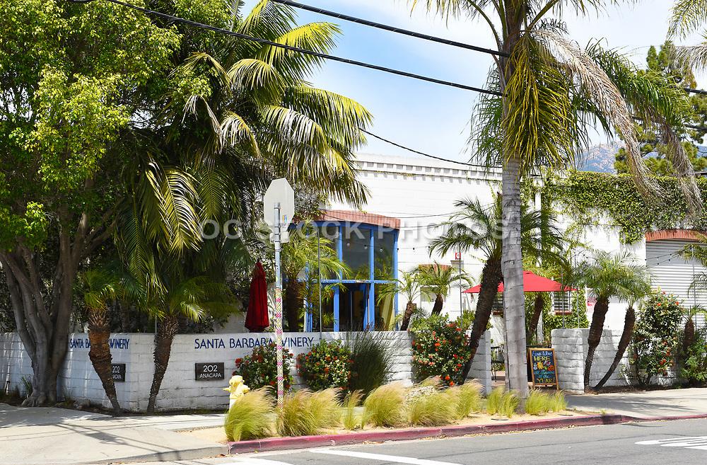 Santa Barbara Winery Tasting Room on Anacapa Street in the Downtown Funk Zone