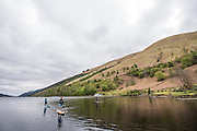Paddling Loch Lory near the Letterfinlay Lodge in Scotland with Terri Bryce, Mitch Bechard, Jon Arman and Will Taylor for SUP the Mag.