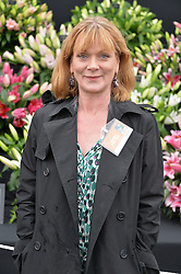 SAMANTHA BOND at the 2015 RHS Chelsea Flower Show at the Royal Hospital Chelsea, London on 18th May 2015.