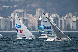 SEGUIN Damien, FRA, 1 Person Keelboat, 2.4mR, Sailing, Voile, FJELDDAHL Fia, SWE, FERNANDEZ OCAMPO Juan, ARG à Rio 2016 Paralympic Games, Brazil