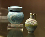 Greek Perfume bottles. From Aryballos, 550-500 BC.
