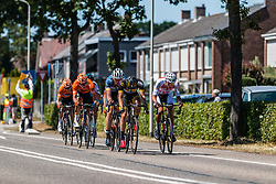 Leading group with Mathieu van der Poel of Corendon-Circus at 2018 National Road Race Championships Netherlands for Men Elite, Hoogerheide, The Netherlands, 1 July 2018. Photo by Pim Nijland / PelotonPhotos.com | All photos usage must carry mandatory copyright credit (Peloton Photos | Pim Nijland)