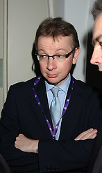 MICHAEL GOVE MP at a dinner attended by the Conservative leader Michael Howard and David Davis and David Cameron held at the Banqueting Hall, Whitehall, London on 29th November 2005.<br />