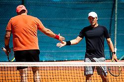 Peter Prelc at Day 10 of ATP Challenger Zavarovalnica Sava Slovenia Open 2019, on August 18, 2019 in Sports centre, Portoroz/Portorose, Slovenia. Photo by Vid Ponikvar / Sportida