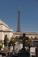 France. paris. 16th district. Passy cemetery / cimetiere de passy