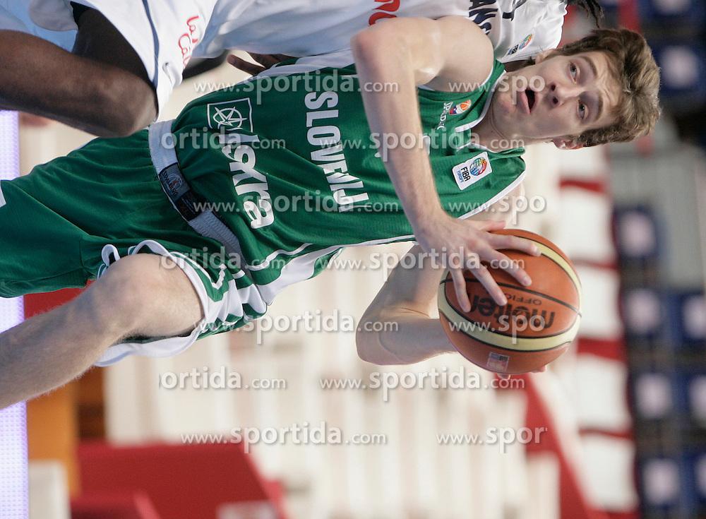 Basketball player Goran Dragic of Slovenia. (Photo by Vid Ponikvar/Sportida)