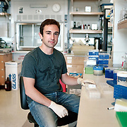 Mason is an embryologist at Baylor College of Medicine.  This photo was taken at the UCSD lab Mason had worked at on the day he defended his PhD dissertation, which was referenced in the summary of the 2012 Nobel Prize in Medicine recipient.  The only photograph from the (a)Bonac series that has been taken out of town is this photograph, but Mason is my brother and these were special circumstances.  Our family moved to East Hampton in 1982 so our father could open a medical practice. Bonac by Tara Israel