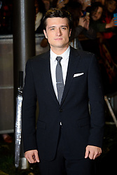 Josh Hutcherson at The World Premiere of 'The Hunger Games: Catching Fire'. Leicester Square, London, United Kingdom. Monday, 11th November 2013. Picture by Chris Joseph / i-Images