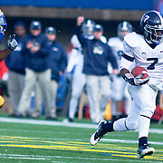Georgia Southern SLOT (#7) Darreion Robinson with the ball during The Division I FCS Championship Semifinals at Delaware. No. 3 Delaware defeats Georgia Southern 27-10 on a cold Saturday afternoon at Delaware stadium in Newark Delaware...Delaware will head to Texas for the Division I FCS National Championship Game Vs Eastern Washington eagles who defeated Villanova 41-31 friday night in Washington..