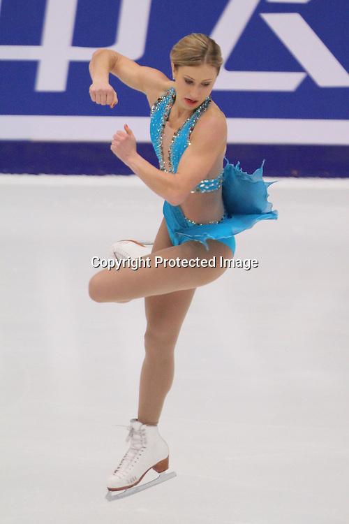 Joannie Rochette (CAN), OCTOBER 31, 2009 - Figure Skating : ISU Grand Prix of Figure Skating 2009/2010, 2009 Skate China Women's Free Skating at Capital Indoor Stadium, Beijing, China. (Photo by Akihiro Sugimoto/AFLO SPORT) [1080]