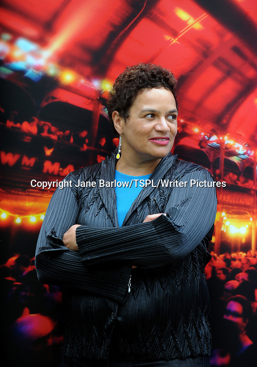 Jackie Kay, Scottish poet and novelist, at the Edinburgh International Book Festival, August 26th, 2011.
