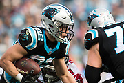 December 23, 2018. Panthers vs Falcons. Christian McCaffrey, RB