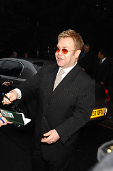 SIR ELTON JOHN at the annual Sir David & Lady Carina Frost Summer Party in Carlyle Square, London SW3 on 5th July 2007.<br /><br />NON EXCLUSIVE - WORLD RIGHTS