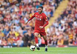 BRADFORD, ENGLAND - Saturday, July 13, 2019: Liverpool's Joe Gomez during a pre-season friendly match between Bradford City AFC and Liverpool FC at Valley Parade. (Pic by David Rawcliffe/Propaganda)