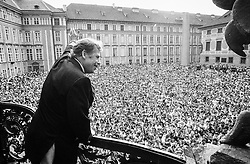 Prague Castle, 5 July 1990<br />