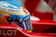 February 21, 2013 - Barcelona Spain. Fernando Alonso, Scuderia Ferrari during pre-season testing from Circuit de Catalunya.
