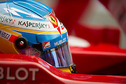 February 21, 2013 - Barcelona Spain. Fernando Alonso, Scuderia Ferrari during pre-season testing from Circuit de Catalunya.