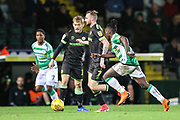 Forest Green Rovers Carl Winchester(7) runs forward during the EFL Sky Bet League 2 match between Yeovil Town and Forest Green Rovers at Huish Park, Yeovil, England on 8 December 2018.