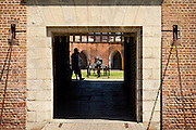 Entry to Fort Pulaski National Monument Savannah, GA.