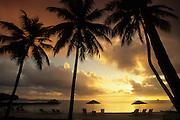 Sunset, Palau Pacific Resort, Palau, Micronesia