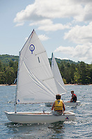 Winnipesaukee Yacht Club and Lake Winnipesaukee Sailing Association out on the Lake Wednesday,  July 27, 2011.
