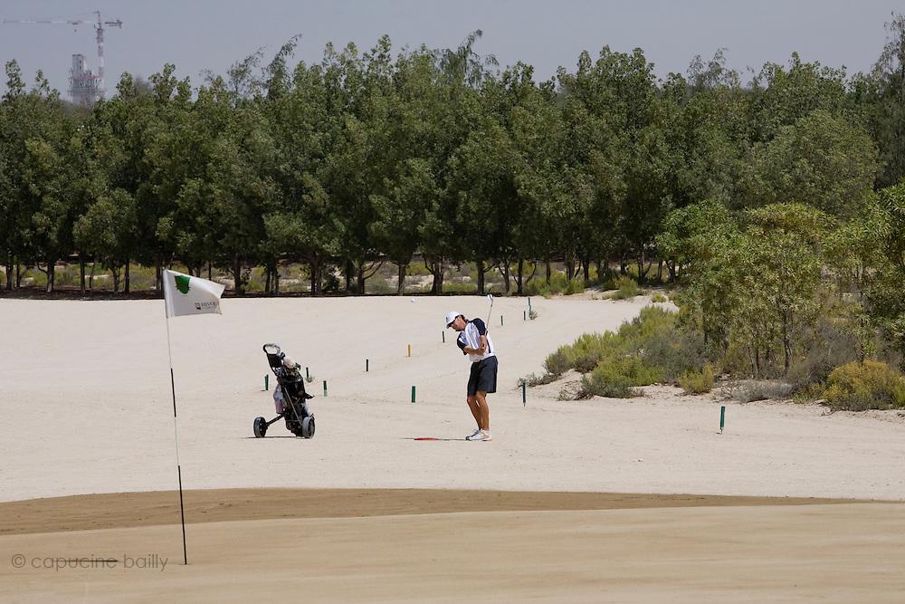 Abu Dhabi, United Arab Emirates (UAE). .March 20th 2009..Al Ghazal Golf Club..36th Abu Dhabi Men's Open Championship..Andrew Marshall