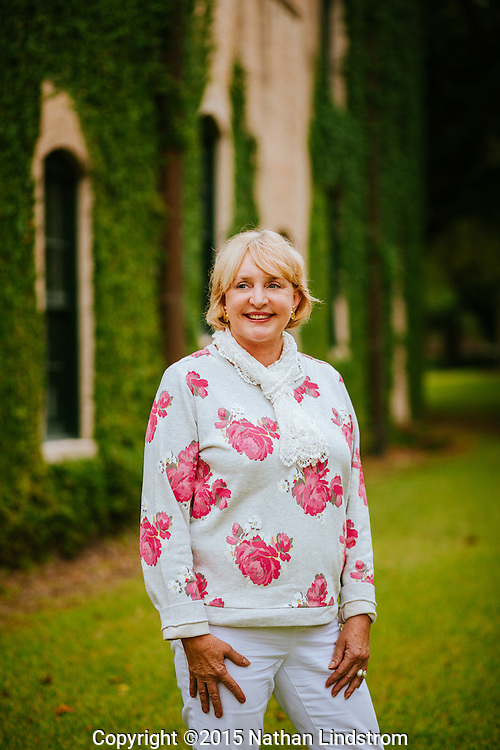 Portrait of Cathy Thomason of the Tabasco making Mcllhany family since 1868.<br />